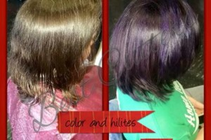 Photo #1: Eliana's Best Cutters. –Cut, Color, Full Head of Highlights & Style
