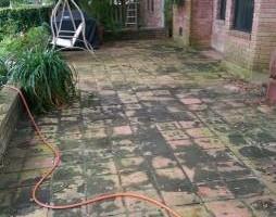 Photo #12: Deck, patio, driveway restoration