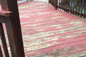 Photo #10: Deck, patio, driveway restoration
