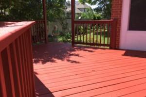 Photo #9: Deck, patio, driveway restoration