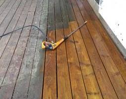 Photo #5: Deck, patio, driveway restoration