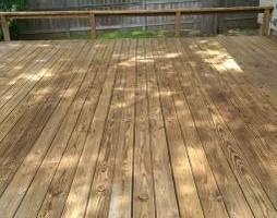 Photo #4: Deck, patio, driveway restoration