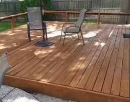 Photo #3: Deck, patio, driveway restoration