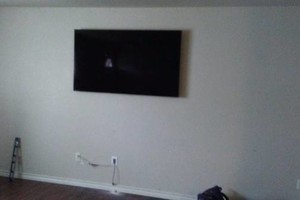 Photo #1: Jesse's TV Mounting & More! Prices Starting As Low As $50!
