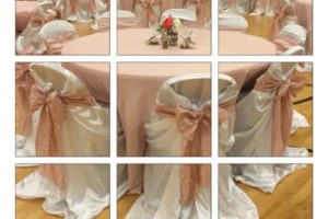 Photo #3: MY CINDERELLA CREATIONS. LINENS & CHAIRCOVERS AND BACKDROPS