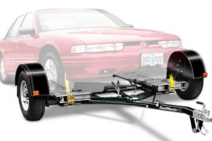 Photo #1: Car towing with dolly