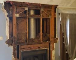 Photo #8: Fireplace Remodels/Sheetrock installation