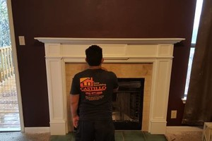 Photo #6: Fireplace Remodels/Sheetrock installation