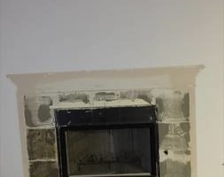 Photo #4: Fireplace Remodels/Sheetrock installation