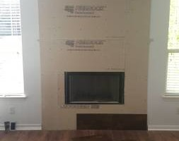 Photo #3: Fireplace Remodels/Sheetrock installation
