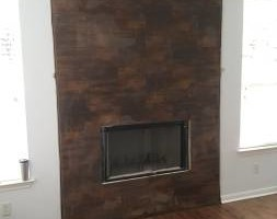 Photo #1: Fireplace Remodels/Sheetrock installation