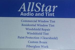 Photo #1: All Srar audio and tint. ASWF & Ceramic Film