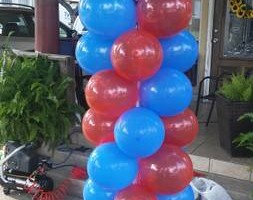 Photo #9: Balloon Columns - Any two colors $60