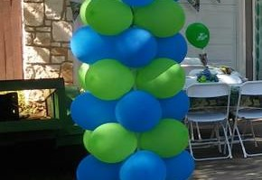 Photo #6: Balloon Columns - Any two colors $60