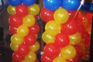 Photo #5: Balloon Columns - Any two colors $60