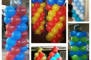 Photo #3: Balloon Columns - Any two colors $60