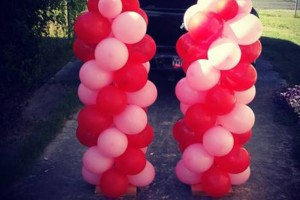 Photo #1: Balloon Columns - Any two colors $60