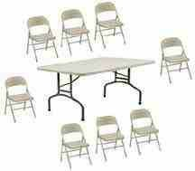 Photo #6: Tables and Chairs rentals / BEST DEALS - $20 delivery fee