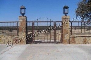 Photo #1: Fences - Privacy, Chain Link, Metal & Pipe, Custom Entryways & Gates