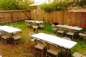 Photo #1: F&V Rentals. Table and Chair for RENT