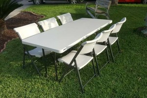 Photo #3: 6 Tables and 36 Chairs $60! +delivery and pick up $10
