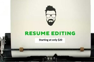 Photo #1: Make Your Resume Shine w Resume Editing Services