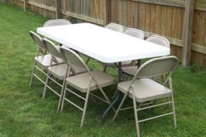 Photo #4: Party event rental -$7 per Table, $1 per Chair, $25 Sno cone Machine