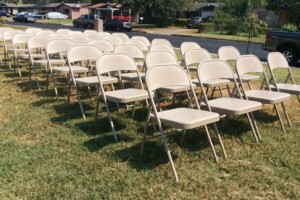 Photo #3: Party event rental -$7 per Table, $1 per Chair, $25 Sno cone Machine