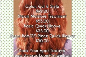 Photo #1: Unique Lenique's Deals! Basic Quick Weave $35.00