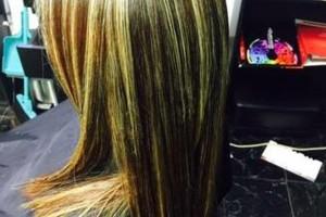 Photo #5: BRENDAS'HAIR MAJESTY STUDIO. HIGHLITES STARTING AT 45.00