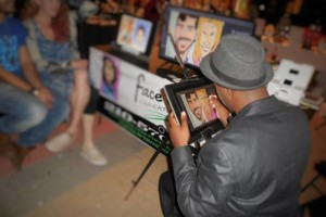Photo #15: LIVE DIGITAL CARICATURES AT YOUR NEXT EVENT