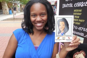 Photo #3: LIVE DIGITAL CARICATURES AT YOUR NEXT EVENT