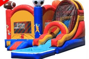 Photo #3: $150 special! Moon Bounce Combos with Slide! Forever Bounce SA