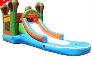Photo #2: $150 special! Moon Bounce Combos with Slide! Forever Bounce SA