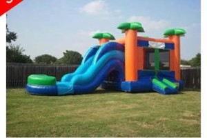 Photo #1: $150 special! Moon Bounce Combos with Slide! Forever Bounce SA