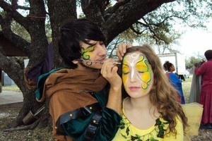 Photo #1: Face Painter Michael. Hundreds of happy customers!