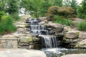 Photo #12: Stone work - Waterfalls, Retaining walls, Coyote fencing