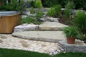 Photo #11: Stone work - Waterfalls, Retaining walls, Coyote fencing