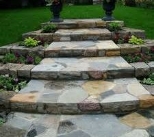 Photo #9: Stone work - Waterfalls, Retaining walls, Coyote fencing