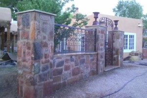 Photo #3: Stone work - Waterfalls, Retaining walls, Coyote fencing