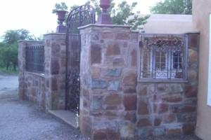 Photo #2: Stone work - Waterfalls, Retaining walls, Coyote fencing