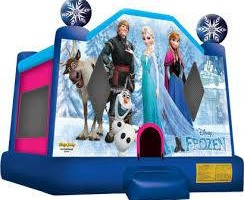 Photo #1: Cool off this summer with a Disney Frozen themed Bounce House Party!