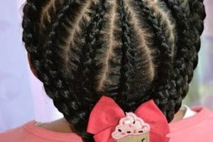 Photo #6: Hair specialist for little girl. Discount available!