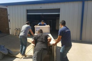 Photo #3: 2 Brothers Moving Service (18or24 ft boxtruck) $60/2man team