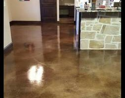 Photo #11: LONE STAR CUSTOM CONCRETE. Grinding /Staining /Etching /Stamped