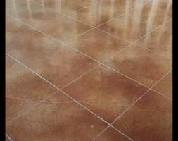 Photo #5: LONE STAR CUSTOM CONCRETE. Grinding /Staining /Etching /Stamped