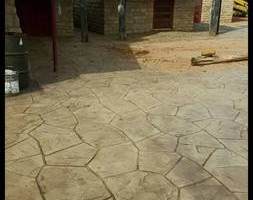 Photo #3: LONE STAR CUSTOM CONCRETE. Grinding /Staining /Etching /Stamped