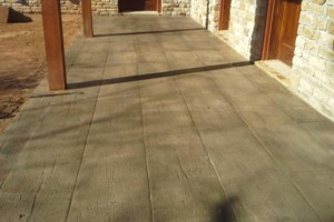 Photo #1: LONE STAR CUSTOM CONCRETE. Grinding /Staining /Etching /Stamped