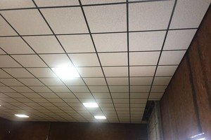 Photo #2: Acoustical Ceiling Installer