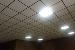 Photo #1: Acoustical Ceiling Installer